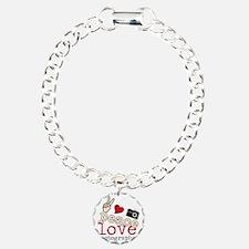Peace Love Photography Bracelet