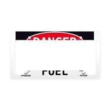 Rocket Fuel License Plate Holder