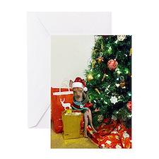 Christmas chihuahua Greeting Card
