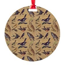 Vintage Birds Ornament