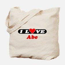 I Love Abe Tote Bag