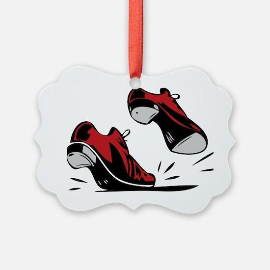 Tap Dancing Shoes Ornament