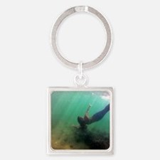 StaySea Mermaid Square Keychain
