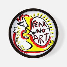 Fear No Art - Original! Wall Clock