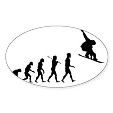 Snowboard Grab Evolution  Bumper Stickers