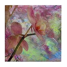 Hidden Orchid Tile Coaster