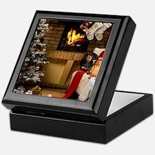 By the Fireplace Keepsake Box