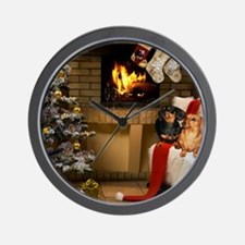 By the Fireplace Wall Clock