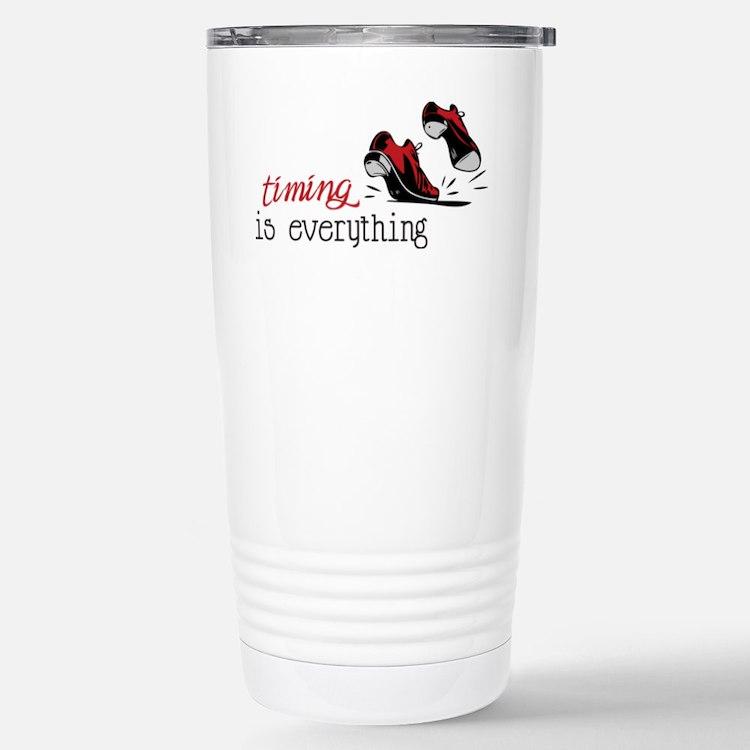 Timing Is Everything Travel Mug