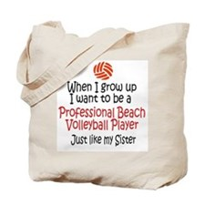 WIGU Pro Beach Volleyball Sister Tote Bag