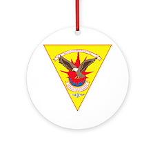 Marine Corps Air Station Cherry Poi Round Ornament