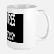 atheismcuresbutton Large Mug