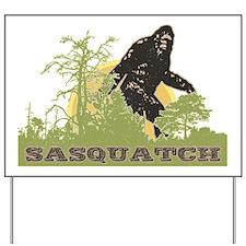 Sasquatch Yard Sign