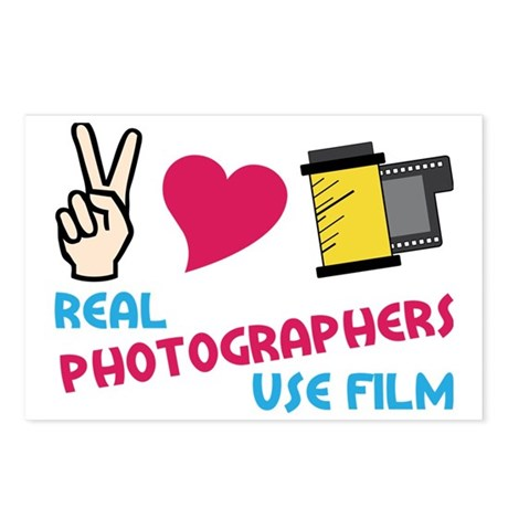 Real Photographers Postcards (Package of 8)
