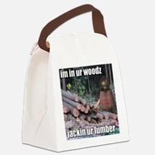 Lumber Jackin Canvas Lunch Bag