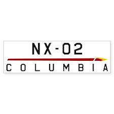 NX-02 Columbia Dark Car Sticker