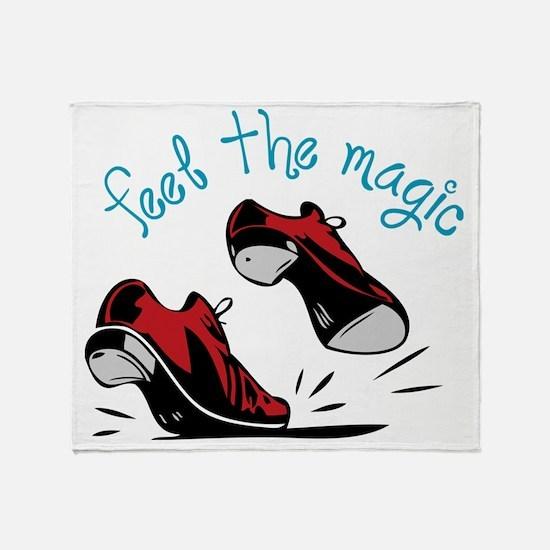 Feel The Magic Throw Blanket