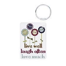 Live Well Keychains