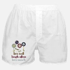 Live Well Boxer Shorts