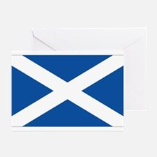 Scotish flag Greeting Cards (Pk of 10)