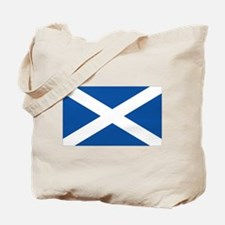 Scotish flag Tote Bag