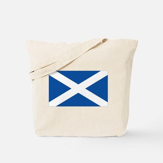Scotish flag Tote Bag