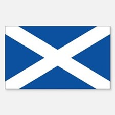 Scotish flag Rectangle Decal