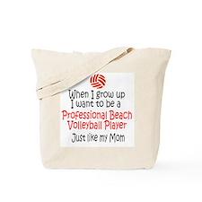 WIGU Pro Beach Volleyball Mom Tote Bag