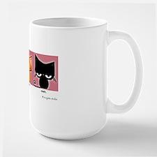 happy.happy.meh version 2! Large Mug