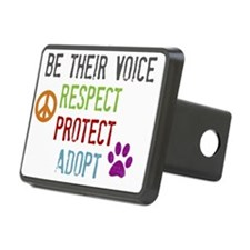 Respect Protect Adopt Hitch Cover