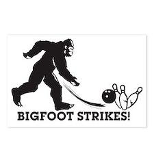 Bigfoot Strikes! Postcards (Package of 8)