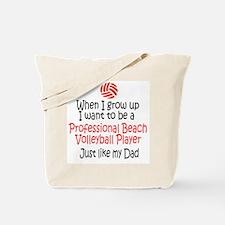 WIGU Pro Beach Volleyball Dad Tote Bag