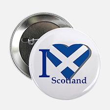 """I love Scotland 2.25"""" Button"""