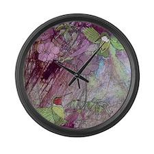 Humming Bird Large Wall Clock