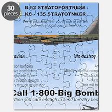 B-52 Stratofortress SAC 1-800-Big-Bomb Puzzle