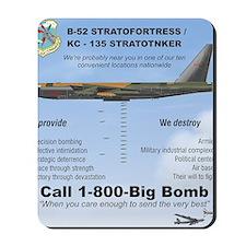 B-52 Stratofortress SAC 1-800-Big-Bomb Mousepad