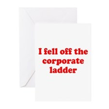 Corporate Ladder Greeting Cards (Pk of 10)