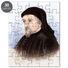 Geoffrey Chaucer, English author Puzzle