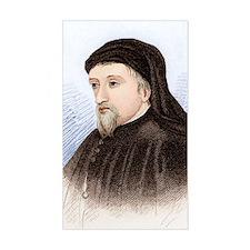 Geoffrey Chaucer, English auth Decal