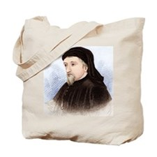 Geoffrey Chaucer, English author Tote Bag