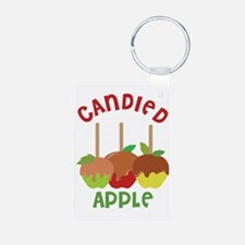 Candied Apple Keychains