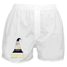 The Ghoul Times Boxer Shorts