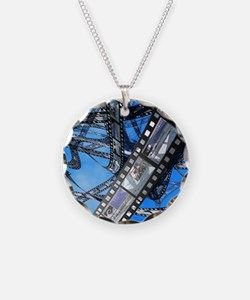 Photographic film, computer  Necklace
