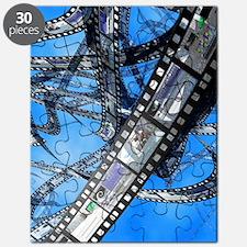 Photographic film, computer artwork Puzzle