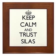 Keep Calm and TRUST Silas Framed Tile