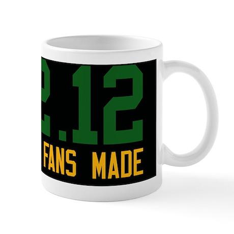 Green and Gold and Black Mug