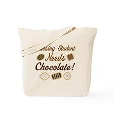 Nursing Student Chocolate Gift Tote Bag