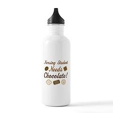 Nursing Student Chocolate Gift Water Bottle