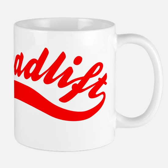 Team Deadlift Red Mug