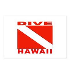 Dive Hawaii Postcards (Package of 8)